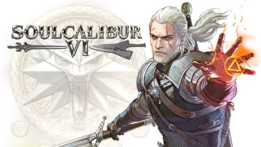 Geralt in Soul Calibur VI