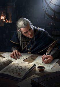 Elven Scribe
