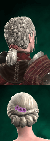 Skellige Braids/Ball Mask hairstyle